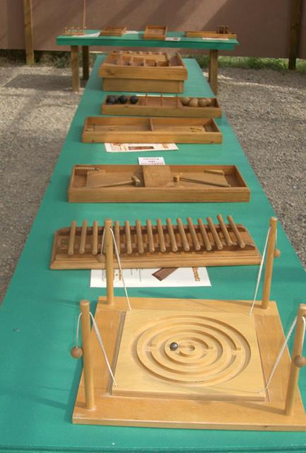 jeux traditionnels anciens en bois d 39 estaminet parc de loisirs teraventure. Black Bedroom Furniture Sets. Home Design Ideas