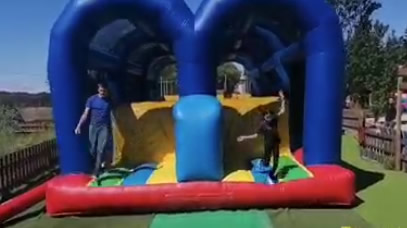 Double total wipeout géant